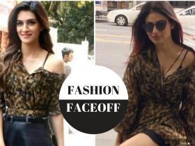 Kriti Sanon,Deme by Gabriella,Mouni Roy,Faceoffs