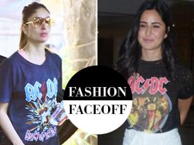 katrina kaif,kareena kapoor khan,Faceoffs,Fashion Faceoff,AC/DC