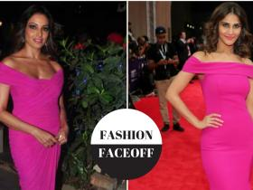 bipasha basu,vaani kapoor,Zulekha Shariff,Theia couture,Faceoffs