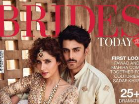 Magazine Covers,mahira khan,fawad khan