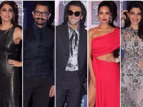Celebrity Style,anushka sharma,GQ Men of the Year Awards 2017,Ranveer Singh and Aamir Khan