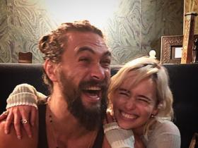 Game of Thrones,emilia clarke,Jason Momoa,Hollywood
