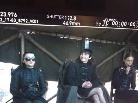 Game of Thrones,maisie Williams,Sophie Turner,Hollywood,Isaac Hempstead Wright