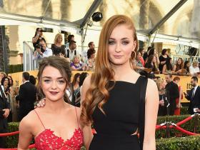 Game of Thrones,maisie Williams,Sophie Turner,Hollywood