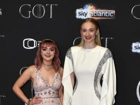 Celebrity Style,Game of Thrones,sophie turner,maisie williams,game of thrones premier