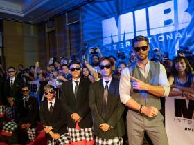 Will Smith,Chris Hemsworth,Hollywood,Men in black: international