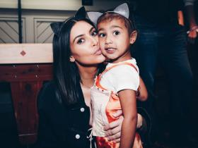 Celebrity Style,kim kardashian,Kanye West,North West