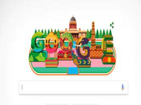 India,Republic Day 2019,Google Doodle,India's 70th Republic Day