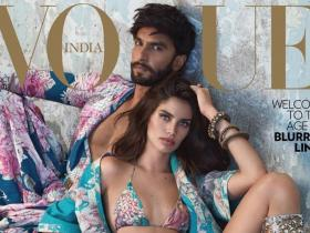 Magazine Covers,Ranveer Singh,Sara Sampaio