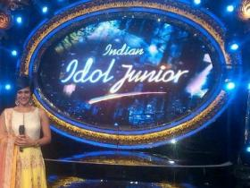 Photos,mandira bedi,SVA by Sonam and Paras Modi,Indian Idol Junior,Anisha Jain