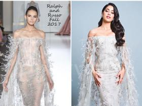 Celebrity Style,rhea kapoor,Vogue Beauty Awards,Ralph and Russo,Janhvi Kapoor
