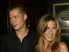 Brad Pitt,jennifer aniston,Ellen DeGeneres,The Ellen Show,Hollywood