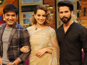 Kapil Sharma,Kangana Ranaut,Shahid Kapoor,Rishi Kapoor,The Kapil Sharma Show,photos,Family Time with Kapil Sharma,Neetu Kapoor