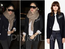 Celebrity Style,airport style,kareena kapoor khan,Zadig & Voltaire