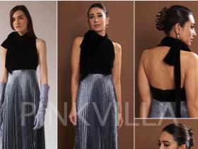 Celebrity Style,karisma Kapoor,Esha Amiin,Reem Acra,Lux Golden Rose Awards 2018