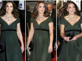 Celebrity Style,kate middleton,BAFTAs 2018,Time's Up