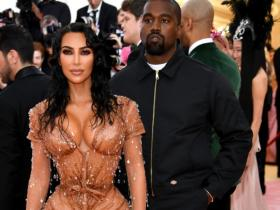 Kim Kardashian West,kanye west,Hollywood,Met Gala 2019