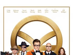 Hollywood,Kingsman: The Golden Circle,Colin Firth,Taron Egerton and Channing Tatum