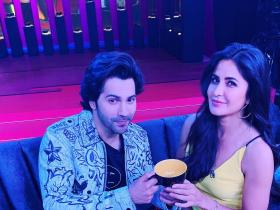 Photos,Katrina Kaif,Karan Johar,Koffee with karan,Varun Dhawan