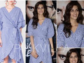 Celebrity Style,Kriti Sanon,Sukriti Grover,Style Cell,Lucknow Central Screening,Fancy Pants