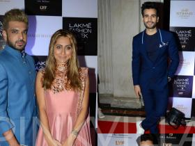 Karan Tacker,Anusha Dandekar,karaN kundra,meiyang Chang,photos,Lakme Fashion Week,Lakme Fashion Week 2016,LFW 2016