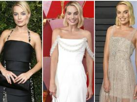 Celebrity Style,Chanel,Margot Robbie,Oscars 2018
