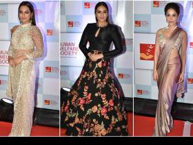 Celebrity Style,celebrities at mijwan fashion show,Sonakshi Sinha at Mijwan fashion show,walk of mijwan
