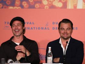 Leonardo DiCaprio,Brad Pitt,Quentin Tarantino,Once Upon A Time In Hollywood,Hollywood