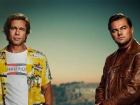 Photos,Leonardo DiCaprio,Brad Pitt,Quentin Tarantino,Once Upon A Time In Hollywood