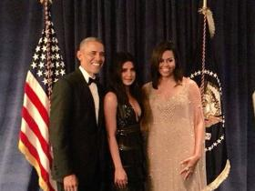 Photos,Priyanka Chopra,Barack Obama,Michelle Obama,White House,Priyanka Chopra White House Dinner