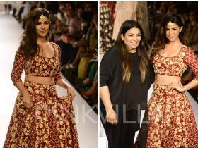 Celebrity Style,Payal Singhal,lakme fashion week,nimrat kaur