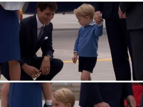 Video,Kate Middleton,Justin Trudeau,Prince William,Prince George,Canadian PM,Princess Charlotte