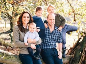 Photos,Kate Middleton,Prince William,Prince George,Princess Charlotte,Prince Louis