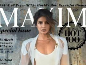 Magazine Covers,Priyanka Chopra,Maxim