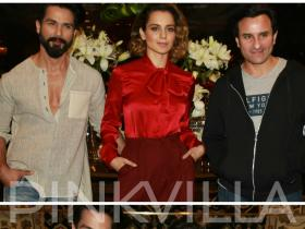 Photos,Kangana Ranaut,Shahid Kapoor,saif ali khan,Rangoon,Rangoon release,rangoon promotions