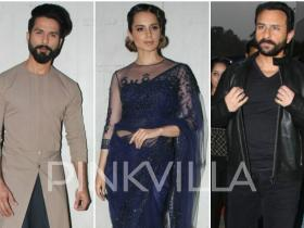 Photos,Kangana Ranaut,Shahid Kapoor,saif ali khan,indian idol,Rangoon,rangoon promotions