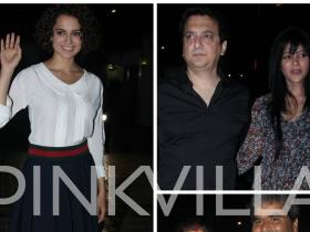 Photos,Kangana Ranaut,Vishal Bharadwaj,Sajid Nadiadwala,Rangoon,Rangoon Wrap Up Party