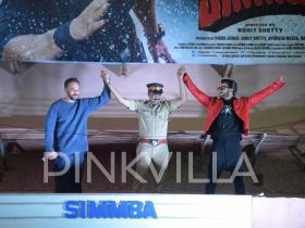 Photos,Ranveer Singh,Rohit Shetty,Simmba