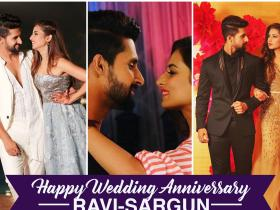 Sargun Mehta,Ravi Dubey,photos,Happy Anniversary