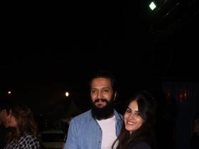 Photos,genelia d'souza,riteish deshmukh,Riteish Genelia,Global Citizen Festival India