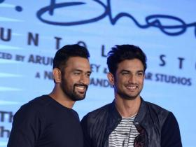 Photos,Sushant Singh Rajput,MS Dhoni,MS Dhoni - The Untold Story,MS Dhoni - The Untold Story promotions,MS Dhoni - The Untold Story release