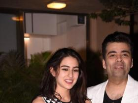 News,Karan Johar,Sara Ali Khan,Student Of The Year 2