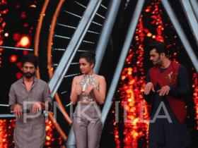 Photos,Shahid Kapoor,Shraddha Kapoor,Batti Gul Meter Chalu,Indian Idol 10