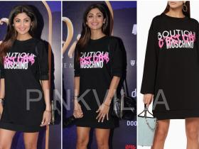 Celebrity Style,shilpa shetty,Aladdin,Boutique Moschino