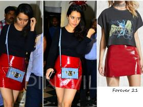 Celebrity Style,louis vuitton,shraddha kapoor,Forever 21
