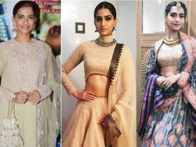 Celebrity Style,sonam kapoor,Wedding,Anand Ahuja,Bride