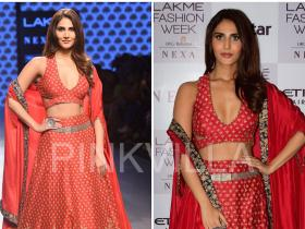 Celebrity Style,SVA by Sonam and Paras Modi,vaani kapoor,SVA Couture,Sonam and Paras Modi,Lakme Fashion Week 2017