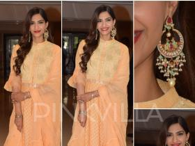 Celebrity Style,sonam kapoor,rhea kapoor,House of Kotwara,Veere Di Wedding promotions