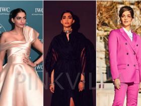 Celebrity Style,sonam kapoor,rhea kapoor,Ralph and Russo,Calvin Klein,Mark Bumgarner