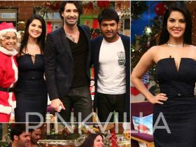 Photos,SRK,Sunny Leone,kapil sharma,Raees,Christmas,daniel webber,The Kapil Sharma Show,Laila Main Laila
